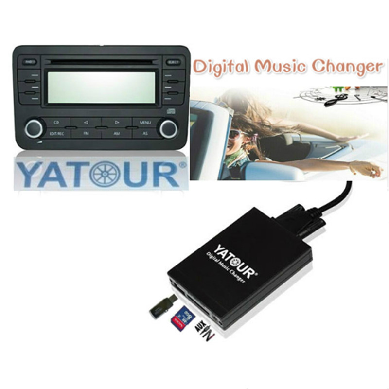 Newst!Yatour for Mazda 2 3 6 CX7 RX8 MPV Car Mp3 Player USB Adapter Audio MP3 AUX Bluetooth interface Digital CD Changer Yt-m06 цены