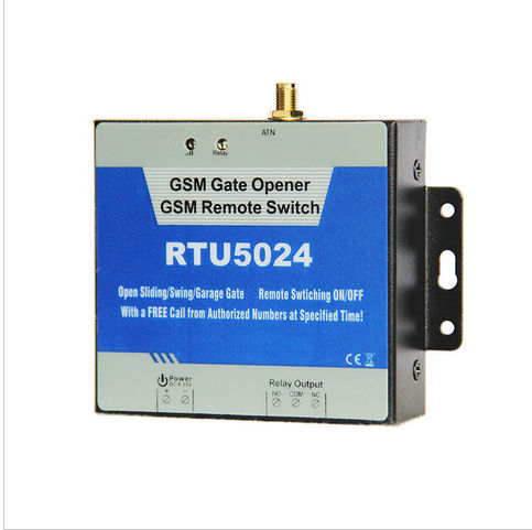 GSM Gate Opener Relay Switch Remote Access Control Wireless Door Opener By Fre Call King Pigeon RTU5024  best price rtu5024 gsm gate opener relay switch