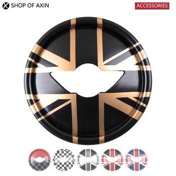 Графическая Крышка для руля, гладкая поверхность для Mini Cooper Clubman Countryman F54 F55 F56 F60 R55 R56 R57 R60
