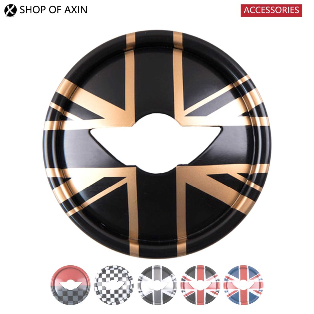 Steering Wheel Decal Graphics Cover Smooth Surface For Mini Cooper Clubman Countryman F54 F55 F56 F60 R55 R56 R57 R60 side skirt body car decals sticker for bmw mini cooper s one jcw countryman clubman f54 f55 f56 f60 r55 r56 r60 r61 accessories