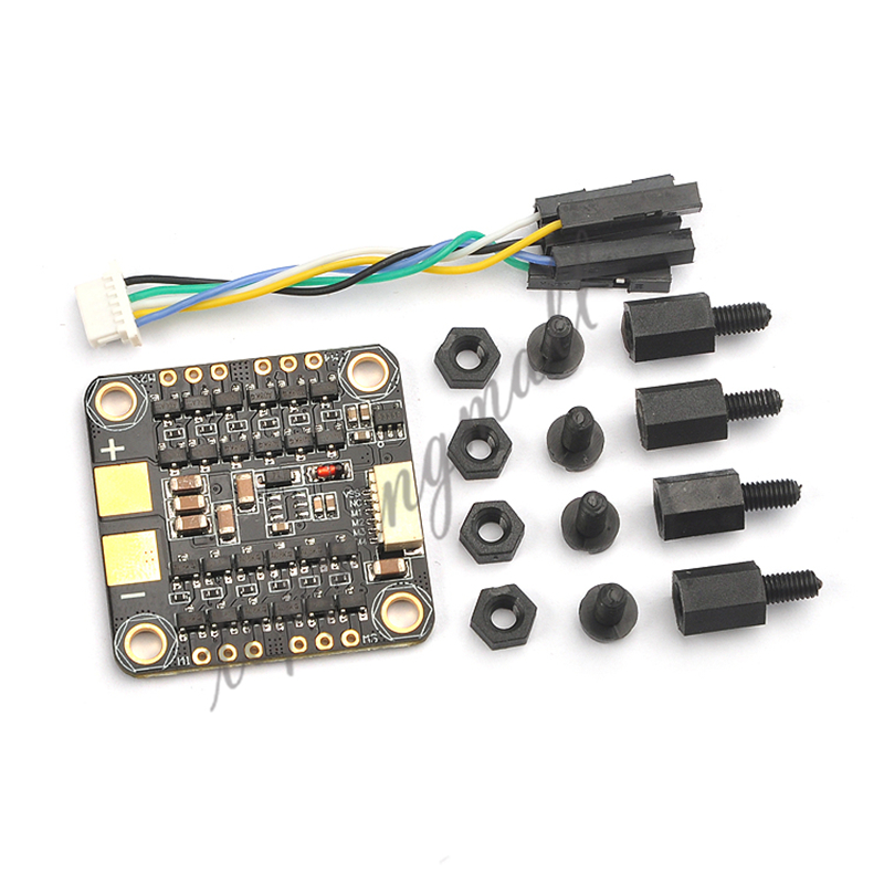 BS412 Blheli_s 2-4S 4in1 12A ESC Support Dshot/Multishot/Oneshot42/Oneshot125 for DIY FPV Racing Drone Quadcopter цена и фото