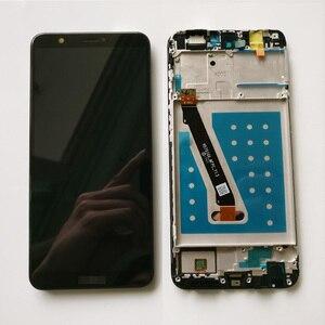Image 1 - 100% testé nouveau 5.6 pouces pour Huawei P Smart FIG LX1/FIG L21 plein écran LCD + écran tactile numériseur assemblée avec cadre