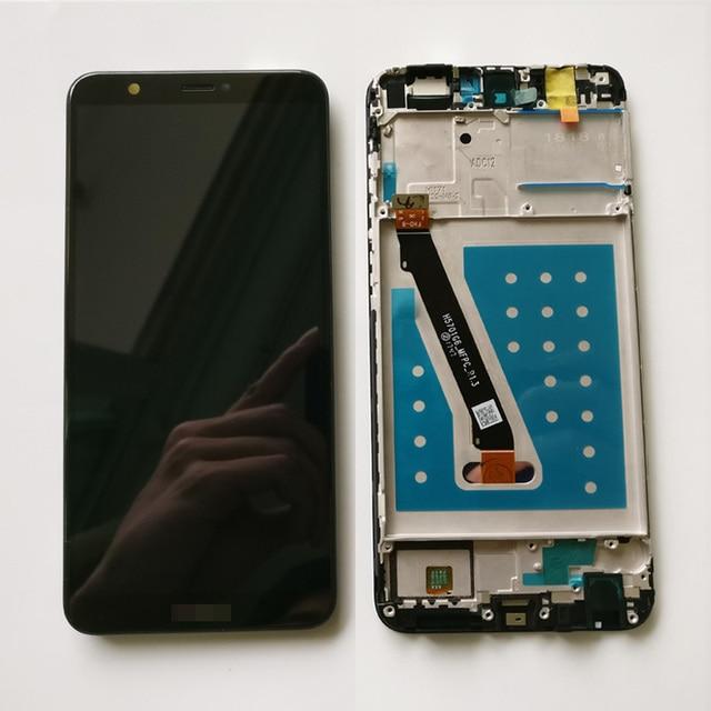 100% testé nouveau 5.6 pouces pour Huawei P Smart FIG LX1/FIG L21 plein écran LCD + écran tactile numériseur assemblée avec cadre