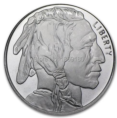 Buffalo Indian 1 Troy Oz 999 Fine