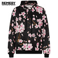2015 New Fashion 3D Flowers Hoodies Print Wintersweet Jacket Men/Women Harajuku Sweatshirt Casual Graphics Pullover Hoody