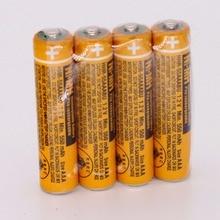 4 шт., аккумуляторная батарея AAA для беспроводной телефон Panasonic, 1,2 В, 550 мАч