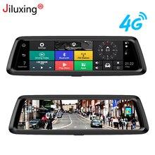 Jiluxing D10S HD 1080 P Auto DVR 4G di navigazione GPS Android macchine fotografiche dell'automobile specchio WIFI FM Bluetooth dash cam video recorder ADAS