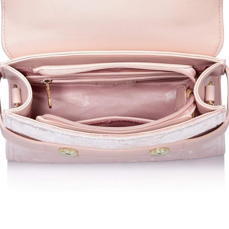 NUCELLE Women S Leather Handbags Ladies Fashion Velour Tote Purse ... 409608dd40473
