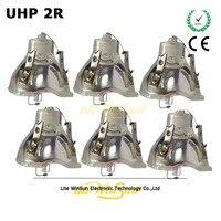 Promo Litewinsune 6 piezas Freeship 2R 120 W haz de luz Fuente de la lámpara Filipo 132 W 2R bombilla