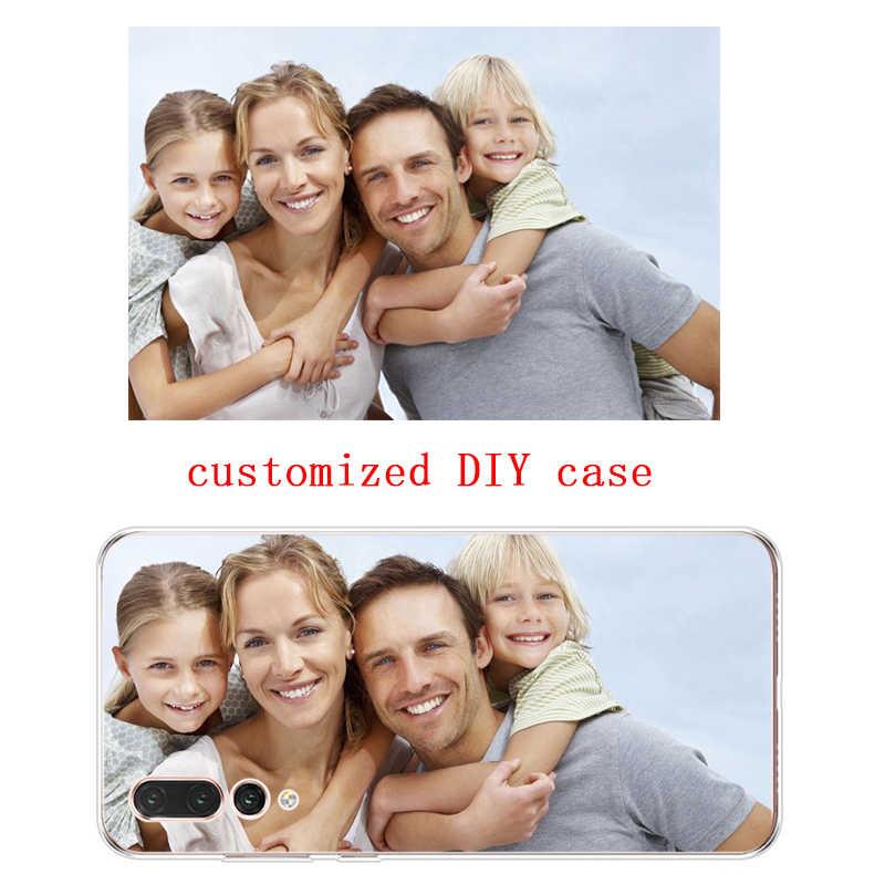 Silicone mềm Tùy Chỉnh Hình Ốp Lưng Điện thoại Huawei P10 P20 PLUS P10 P20 P30 Lite Honor 9 10 P20 P30 PRO GIAO PHỐI 7 8 9 10