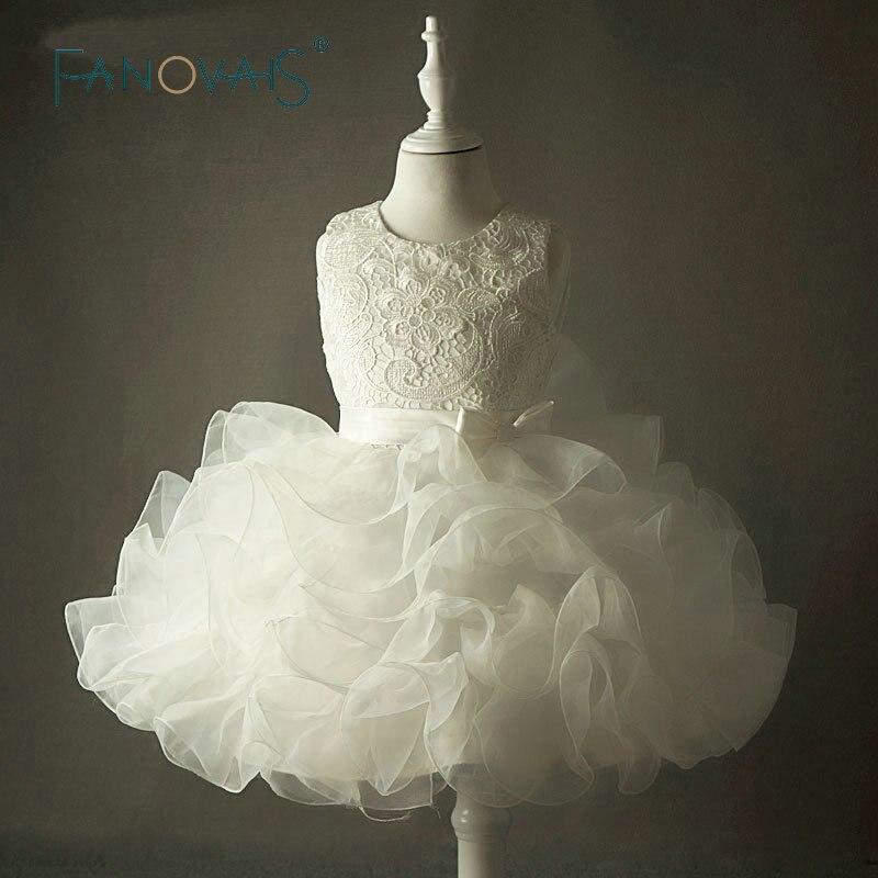 2016 старинные кружева платья девушки цветка для свадеб с бантом пухлые ну вечеринку выпускного вечера дети дети день рождения вечернее платье vestidos infantis