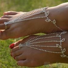 1PC Barefoot anklets Sandals Foot Jewelry Beach Dancing Wedding Ankle Bracelet Chain 9OWQ