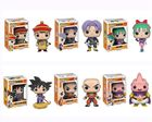 Original Funko pop Dragon Ball Z Gohan, Trunks, Bulma, Goku and Nimbus, Krillin, Majin Buu Vinyl Figure Collectible Model Toy