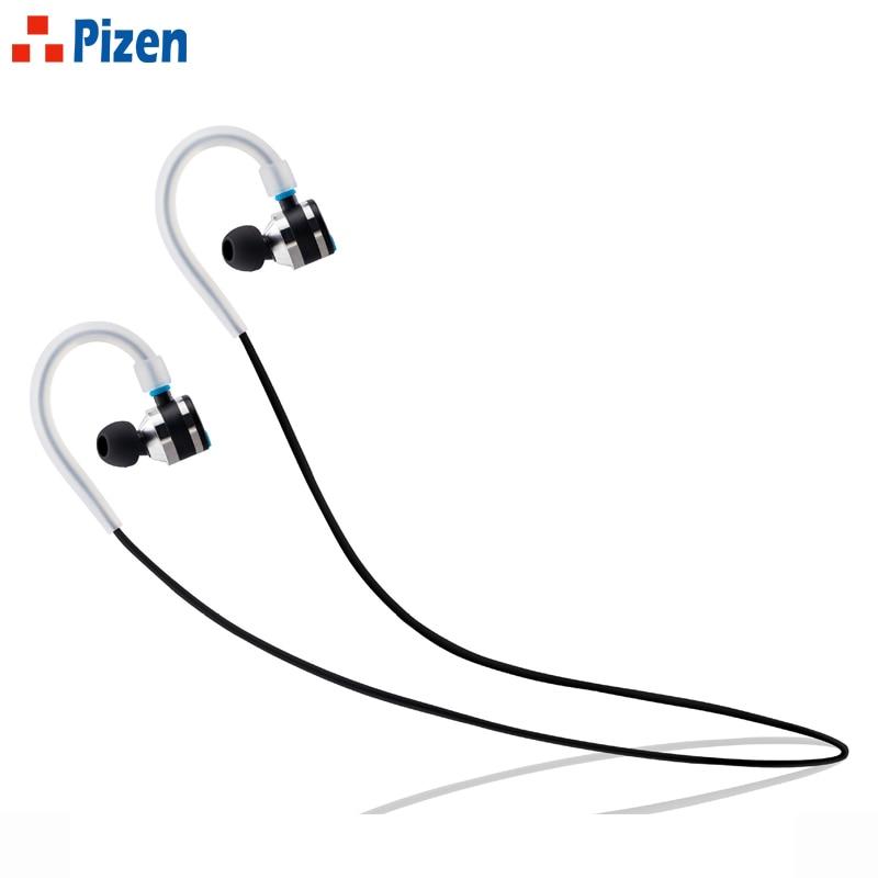 PIZEN Wireless Bluetooth Headset APTX Sport Headphones Noise Cancelling Running Earbuds Bluetooth Earphone apt-x earphones huast v4 1 sport bluetooth earphone with mic wireless headphones bluetooth headset magnet earbuds for phone noise cancelling