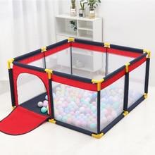 Портативный детский манеж ограждение для безопасности ребенка Складной Игровой забор