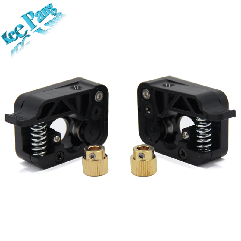 New MK10 Extruder with 40 tooth Copper Gear Feed For Makerbot Extrusion 1 75mm 3D Printers