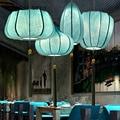 Новая китайская Классическая тканевая Подвеска для ресторана  гостиной  китайская ручная вязка  креативная люстра в стиле Zen  бесплатная до...
