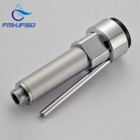 Free Shipping Pressure Switch Brushed Nickel Hand Shower Kitchen Faucet Replacement Sprayer