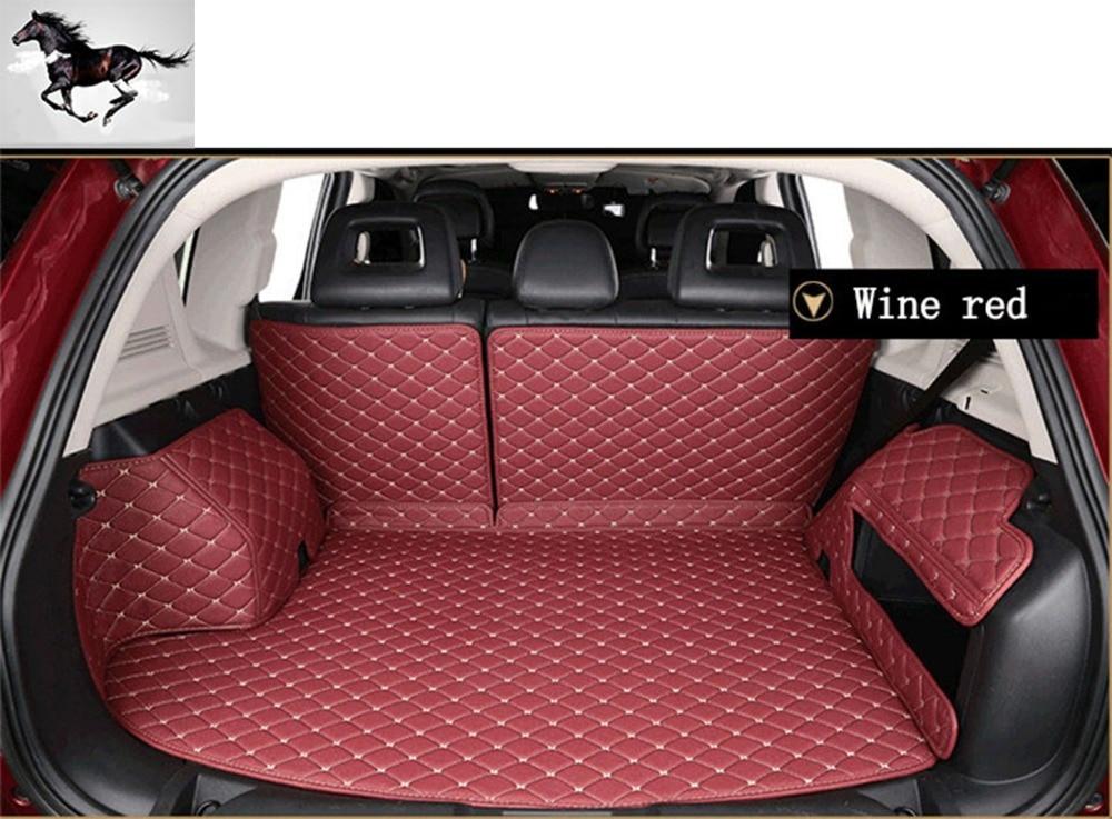 topmats best newest trunk protector cargo liner set floor mat for audi q7 7 seats on. Black Bedroom Furniture Sets. Home Design Ideas