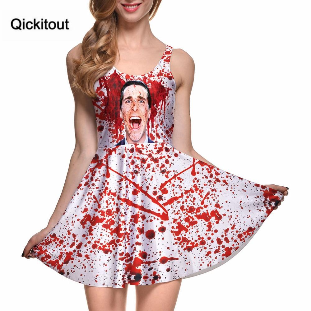 ̀ •́ Nuevo verano caliente mujeres sexy imprimir American Psycho ...