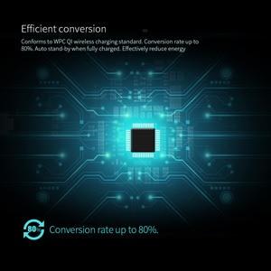 Image 5 - 10W Qi Wireless Charger NILLKIN สำหรับ iPhone X/XS/XR/8/8 PLUS สำหรับ Samsung Note 10/S10 Qi Wireless Charger แบบพกพาสำหรับ Mi 9