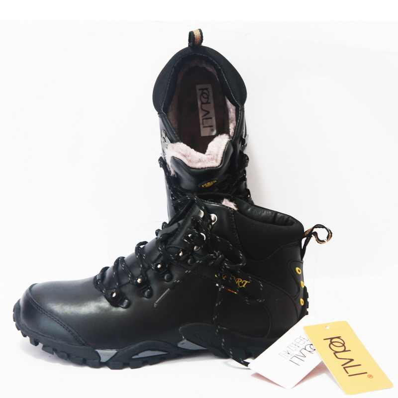 Polali Mannen Laarzen Waterdichte Mannen Schoeisel Laarzen 2019 Winter Sneeuw Laarzen Bont Ademend Mode Mannen Winter Schoenen Zapatos Hombre