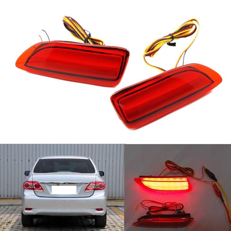 2шт светодиодные задние бампера света туман лампа для Toyota Венчик 2011 2012 2013