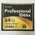 Оптовая Kimsnot Professional Compact Flash CF Карты 16 ГБ 32 ГБ 64 ГБ 128 ГБ 256 ГБ Высокая Скорость 1066 х 160 М/S Карты CompactFlash Памяти
