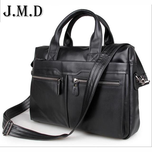 Bolsa de viagem dos homens 100% Genuíno saco De Couro dos homens Do Vintage dos homens Saco Do Mensageiro dos homens maleta bolsa Para Laptop Pasta do negócio