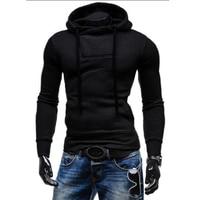2018 New Brand Men Hoody Sweatshirts Hip Hop Fashion Slim Hoodies Men Hooded Cloak Sudaderas Hombre