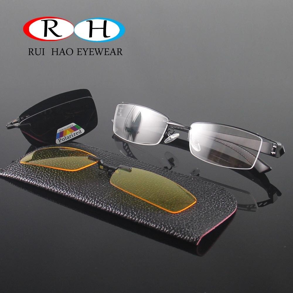 Halbrandlose Brillen Männer Rahmen Optische Brillen Rahmen Brille 2 ...