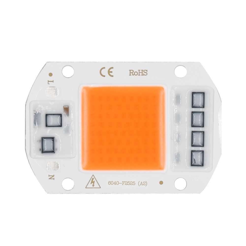 LED Coltiva La Lampada COB Spettro Completo AC110V Ha Condotto La luce 230V 5W 10W 20W 30W 50W Per Piante Piantina Crescere e La Crescita Del Fiore HA CONDOTTO LA LUCE DIT