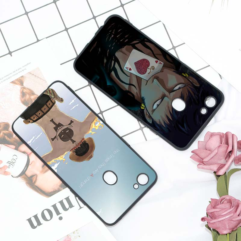 Black Silicon Soft Phone Case One piece For OPPO F5 F7 F9 A5 A7 R9S R15 R17 Phone Bag in Fitted Cases from Cellphones Telecommunications