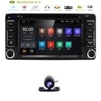 Hizpo Android8.1 4Core 2DIN Car DVD GPS for Toyota Terios Old Corolla Camry Prado RAV4 fortuner radio 4G wifi Capacitive 800*480