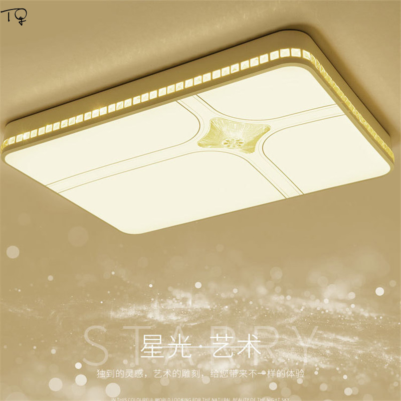 Round Ceiling Lamp LED Acrylic Remote Control Simple Personality Living Room Modern Bedroom Study Dining Hall Decoration Home in Ceiling Lights from Lights Lighting