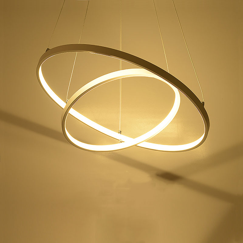 New Dimmable Modern Led Chandeliers For Dinning Room Bedroom