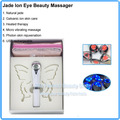 Beauty Tools Infrared Heat Mini Electric Eye Massager Jade Galvanic Ion Anti-wrinkle Eye Pouch Therapy Eye Beauty Care Pen