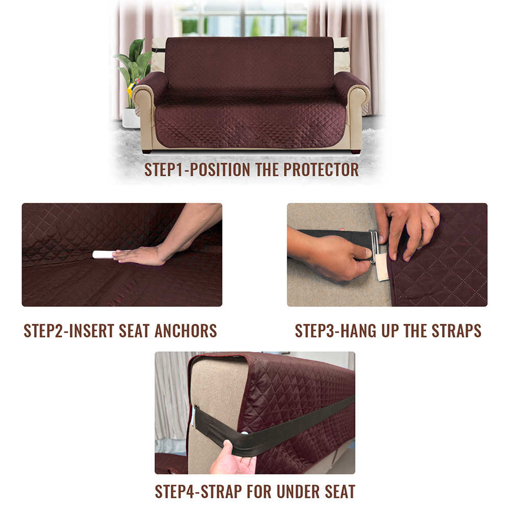 Sofá reclinável Capa Anti-Slip Protetor de Braço Slipcovers Capas de Sofá Para Sala de estar Mobiliário Cadeira Do Sofá Tampa do Sofá Elástica