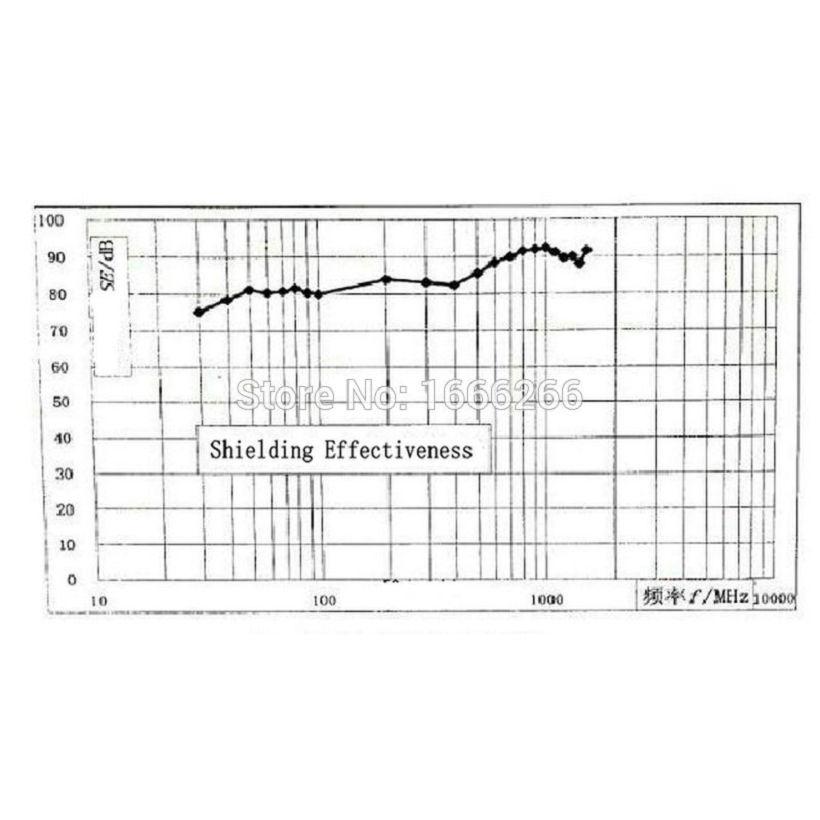 BLOCK EMF RFID Shielding Fabric EMF67#LH Used For Wallet Bag Ling/Shielding Tent/ Wall/ Room