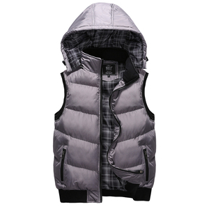 Image 4 - Plus Size 5XL Mens New Winter Vest Thermal Sleeveless Jackets Men Casual Slim Fit Autumn Vests Men Brand Waistcoat
