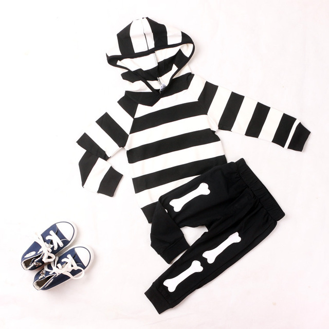 Korean Boy&girl Hoodies&sweaters Cotton Clothes Striped Clothings for Autumn Clothings