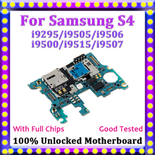 US $16.0 |100% Unlocked Mainboard Logic Board For Samsung Galaxy S4 Motherboard i9295 i9505 i9506 i9500 i9515 i9507 With Android System-in Mobile Phone Antenna from Cellphones & Telecommunications on Aliexpress.com | Alibaba Group