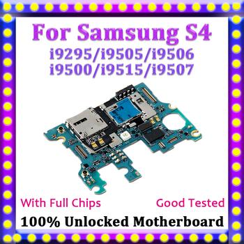 100 odblokowana płyta główna tablica logiczna dla Samsung Galaxy S4 płyta główna i9295 i9505 i9506 i9500 i9515 i9507 z system android tanie i dobre opinie For Samsung Galaxy S4 i9295 i9505 i9506 i9500 i9515 i9507 Wewnętrzny TDHHX Shenzhen Guangdong China(mainland) Full QC Tested