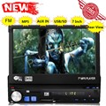 "high quality 7"" Inch Car MP5 MP4 Player support Rear View Camera HD Stereo 12V FM Radio Audio Video USB SD TF AUX 1 DIN"