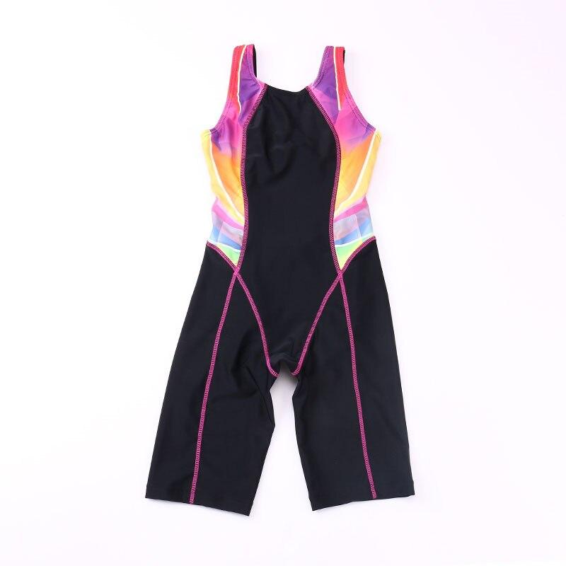 Gyerekek Gyors szárítású fürdőruhák Lányok versenypólói - Sportruházat és sportolási kiegészítők - Fénykép 4