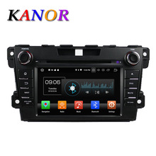 KANOR Octa Core Android 8.0 4g 2din Car DVD Player For Mazda CX-7 With GPS Navigator Multimedia Autoradio Player Headunit