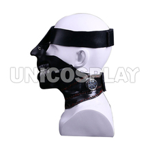 Tokyo Ghoul Kaneziki ken Cosplay Mask Halloween One-eye Face Cover Masks Costume Accessories Party Christmas Game Props ZB000187