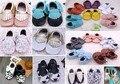 De alta Calidad Mocasines Moccs Suaves Del Bebé Zapatos de Bebé Recién Nacido Bebé Prewalker antideslizante Zapatos Infantiles Calzado de Cuero Genuino de la Vaca