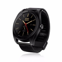 K89 Smart Watch Metal MTK2502C Heart Rate Monitor for Android IOS Bluetooth Smart Watch Classic Health Metal Smartwatch