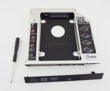 WZSM New 2nd HDD SSD Hard Drive Caddy Adapter for HP ProBook 6440b 6450b 6550b 6530B 6535B 6730B Elitebook 8440P 8470p 8530p